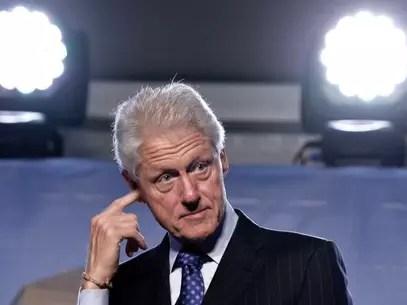 La oferta más alta de Charitybuzz fue la de pasar un día con Bill Clinton Foto: AFP