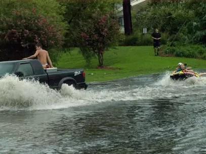 Hasta el momento, 21 estados se encuentran bajo aviso de inundaciones en las planicies de EE.UU., el medio oeste, el sureste y el noreste. Foto: Getty Images