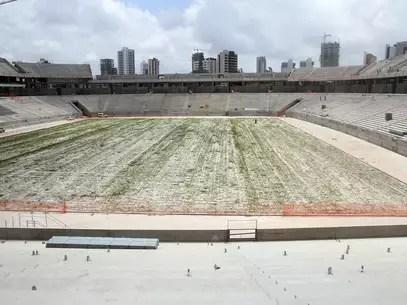 Foto da Arena das Dunas de 6 de setembro Foto: Glauber Queiroz/Portal da Copa / Divulgação