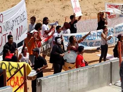 Copa de 2014 vem sendo alvo de protestos no Brasil Foto: Euclides Oltramari Jr. / Futura Press