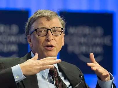 Fundador da Microsoft, Bill Gates revela bom humor e próximos projetos em sessão de perguntas e respostas no Reddit Foto: AP