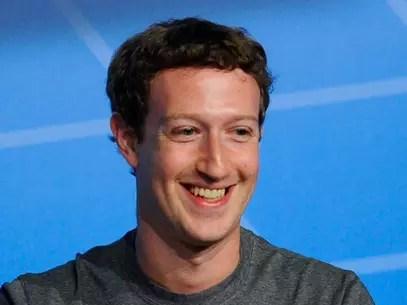 Mark Zuckerberg, fundador do Facebook Foto: Getty Images
