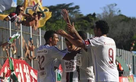 Fred voltou a marcar no Campeonato Carioca Foto: Nelson Perez / Fluminense FC/Divulgação