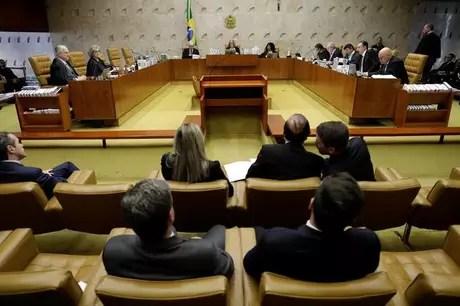 Plenário do Supremo Tribunal Federal em Brasília
