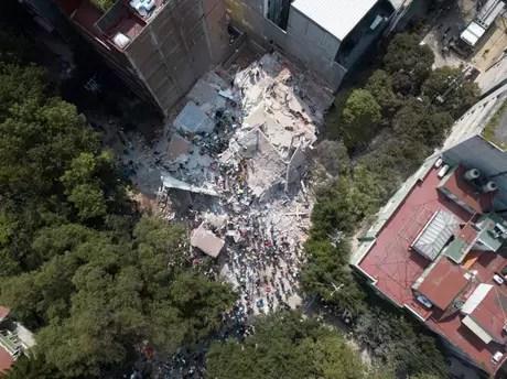 Cerca de 44 prédios sofreram grandes danos com o temor desta terça