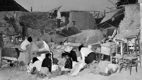 Terremoto de 1970 no Peru deixou milhares de desabrigados