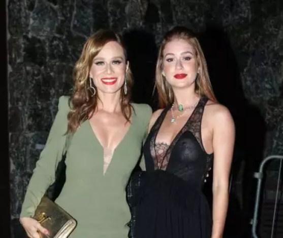 Mariana Ximenes e Marina Ruy Barbosa (Fotos: AgNews)