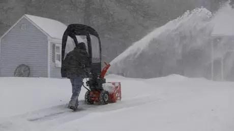 A região de New England foi uma das mais afetadas pela tempestade