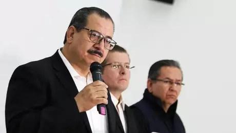 O promotor de Jalisco indicou que toda a polícia de Tecalitlán está sendo investigada | Foto: Promotoria de Jalisco