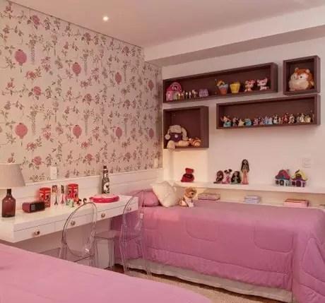 32. Os nichos são ótimos para a decoração de quarto infantil. Projeto de Patricia Kolanian