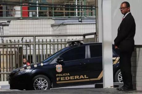 Carro da Polícia Federal, no Rio de Janeiro 05/09/2017 REUTERS/Sergio Moraes