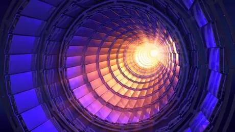 O Grande Colisor de Hádrons é um acelerador de prótons usado na busca por minipartículas fundamentais do Universo