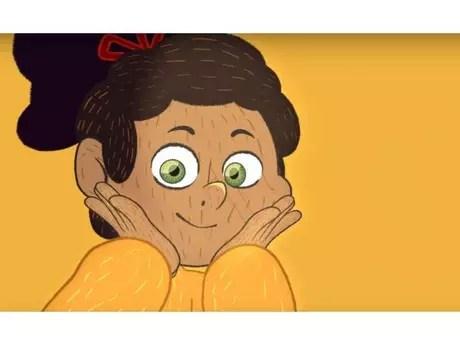 """""""Min e as Mãozinhas"""" é a primeira animação inteiramente em libras do Brasil"""