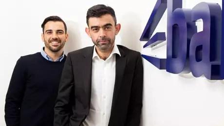 Andrew dirige seu mais novo negócio, Bark, com o co-fundador Kai Feller