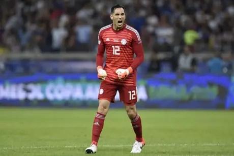 Gatito Fernández é o titular da seleção de Eduardo Berrizzo (Foto: DOUGLAS MAGNO / AFP)