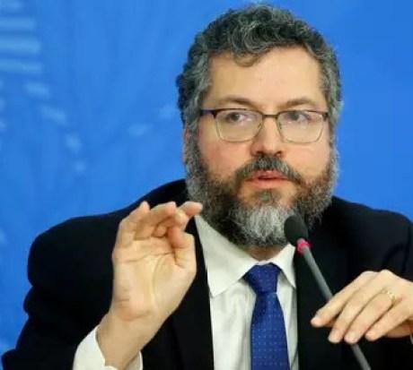Chanceler brasileiro, Ernesto Araújo04/02/2020 REUTERS/Adriano Machado