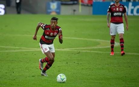 Bruno Henrique chegou ao Flamengo no início de 2019 (Foto: Alexandre Vidal/Flamengo)