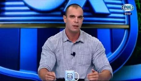"""Mano é comentarista esportivo nos canais """"Fox Sports"""" (Foto: Reprodução)"""