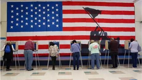 Os evangélicos brancos representavam um quarto dos eleitores dos EUA em 2016, embora fossem apenas 17% da população