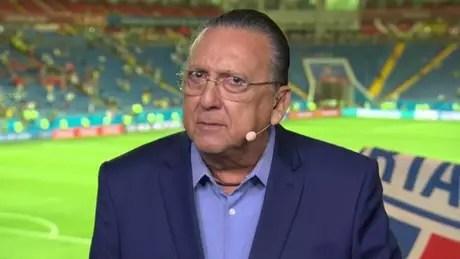 Galvão afirmou em março que não narraria próxima Copa (Foto: Reprodução)