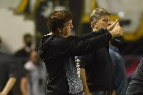 Santos fez três jogos contra o Grêmio em 2020 e não saiu derrotado (Foto: Ivan Storti/Santos)
