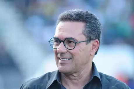 Luxemburgo foi campeão paulista pelo Palmeiras