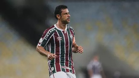 Camisa 9 teve postura aguerrida no Maracanã (LUCAS MERÇON / FLUMINENSE F.C.)