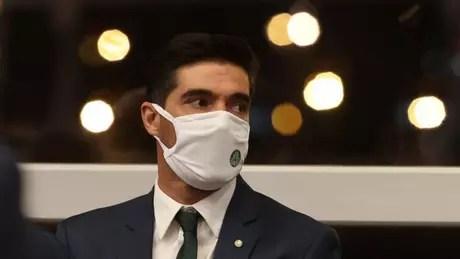 Abel Ferreira já conquistou dois grandes títulos pelo Palmeiras (Foto: Cesar Greco/Palmeiras)