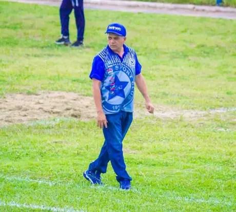 Batista Filho assumiu interinamente o Parnahyba(Foto: Lucas Marinho)