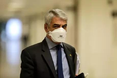 Senator Humberto Costa (PT-PE) during Covid's CPI