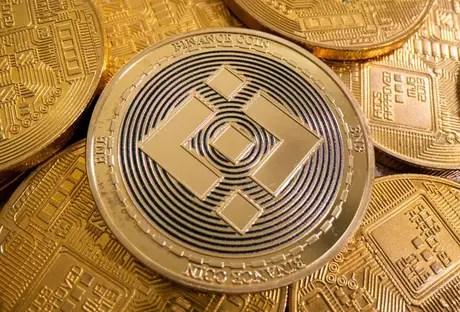 Binance virtual currency representation.  8/6/2021.  REUTERS/Ruvic data