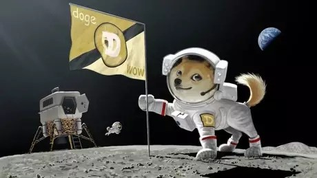 Elon Musk has already suggested taking dogecoin to the Moon by publishing an illustration in late February