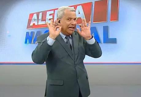 The presenter Sikêra Júnior, from RedeTV!
