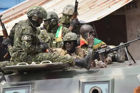 Military try to seize power in Guinea, a country in northwest Africa (Photo: CELLOU BINANI / AFP)
