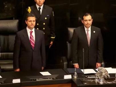 Tras recordar que Peña Nieto ha visitado ya en dos ocasiones las instalaciones del Senado, Cordero sostuvo que es una muestra de interés y respeto. Foto: Presidencia