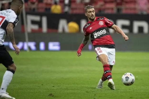 Arrascaeta está à disposição do técnico Renato Gaúcho para a partida (Foto: Alexandre Vidal / Flamengo)