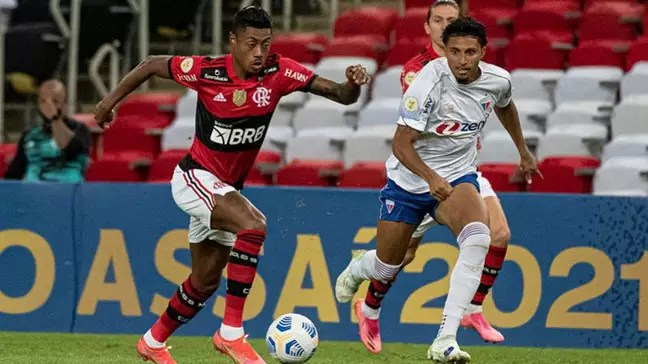 Flamengo and Fortaleza are fighting for the title of the Brasileirão (Photo: Alexandre Vidal/Flamengo)