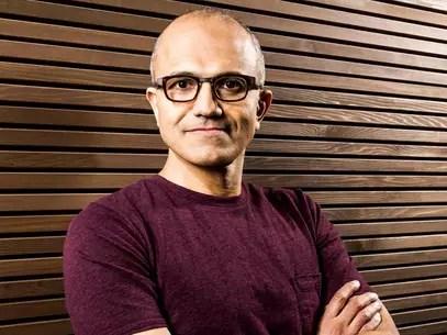 O indiano Satya Nadella é o terceiro CEO da Microsoft Foto: Reprodução