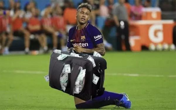 Ida de Neymar para o PSG gerou memes nas redes sociais