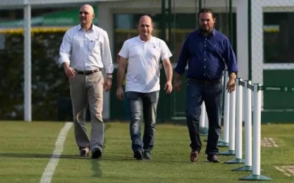 Maurício Galiotte, Cícero Souza e Alexandre Mattos