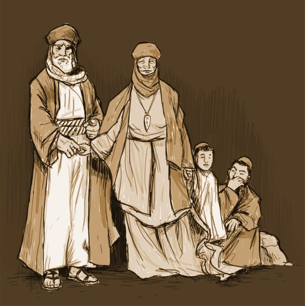 abraham and family # 45