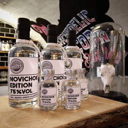 Distillery apologises for Novichok vodka