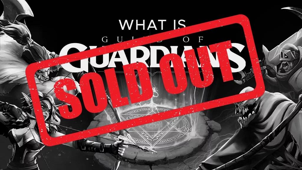 Guild of Guardians Sale: SOLD OUT!