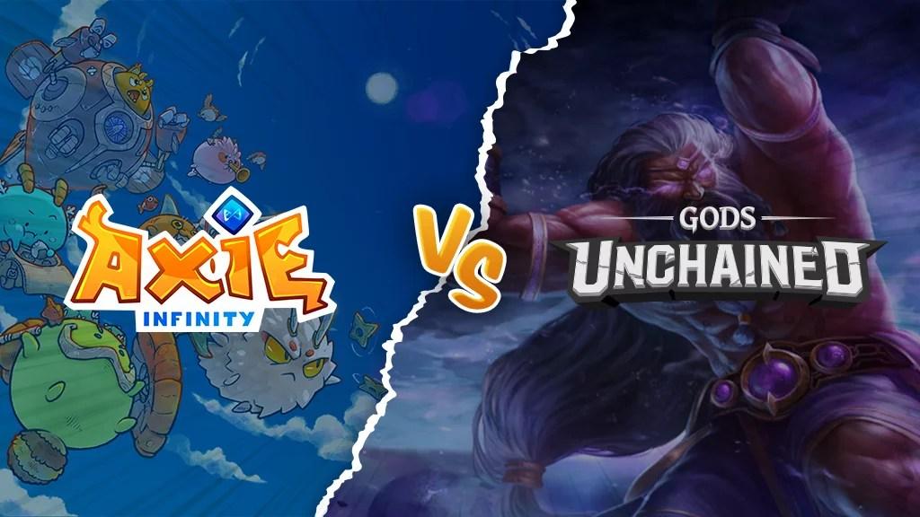 Axie Infinity vs Gods Unchained