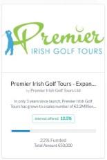 Flender und Golf in Irland