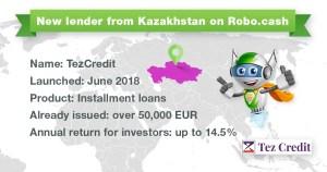 RoboCash TezCredit mit 14.5% und Buyback