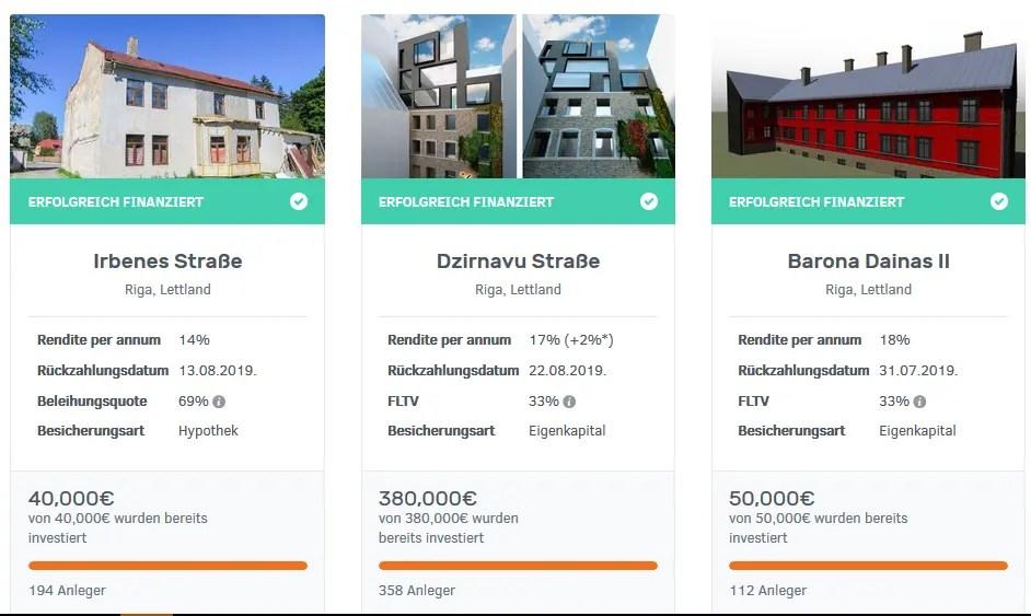 Bulkestate Projekte