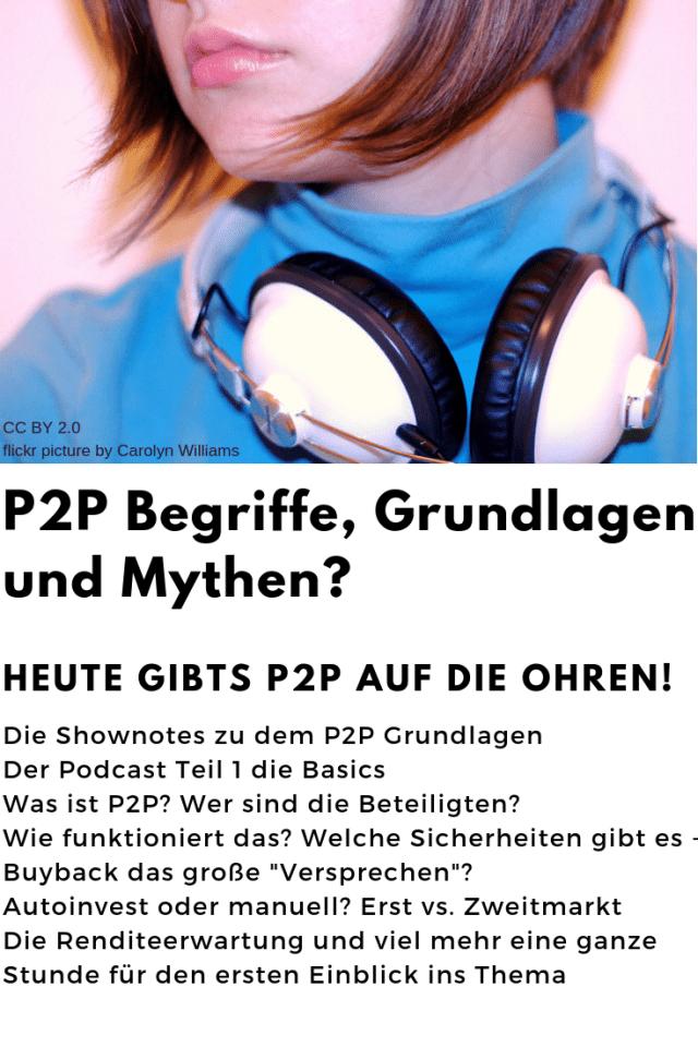 P2P Grundlagen Pordcast