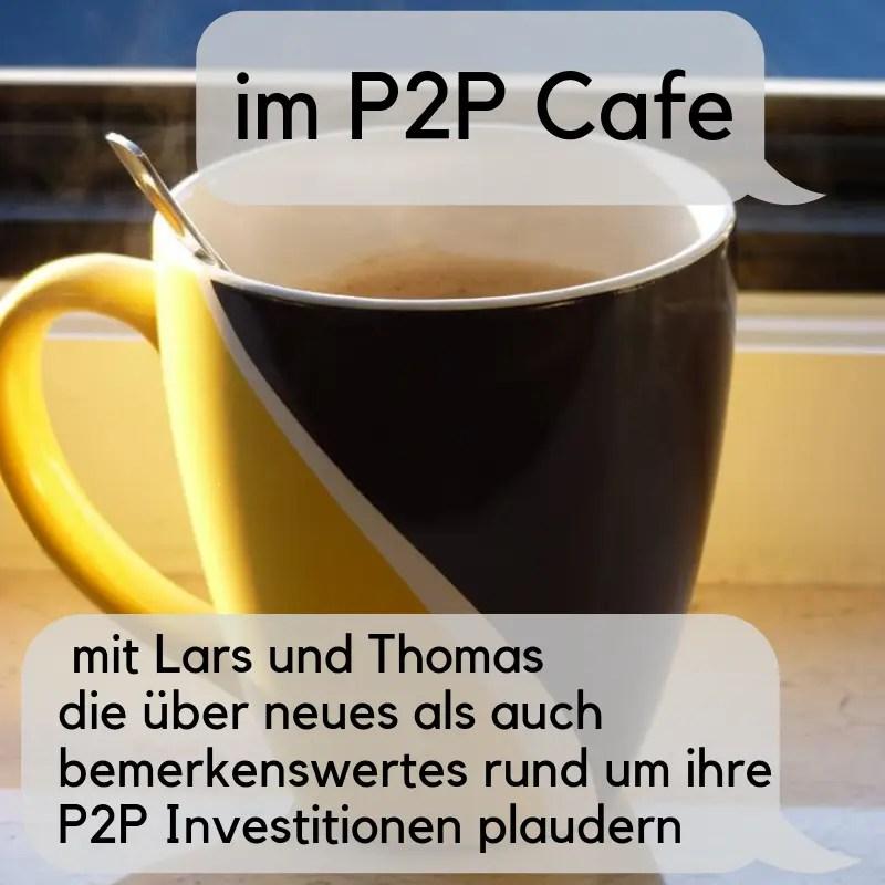 P2P Cafe mit Lars und mir