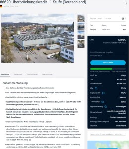 Das erste deutsche Estateguru Projekt mit 12% Zinsen!
